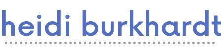 heidi burkhardt logo